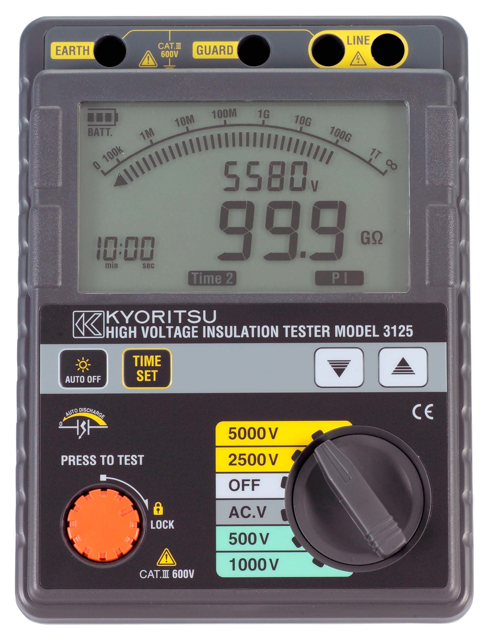 Insulation Tester Digital Kyoritsu 3021